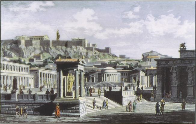 Η αρχαία Αγορά των Αθηνών