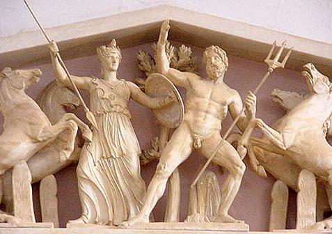 Η αρχαία πόλη των Αθηνών